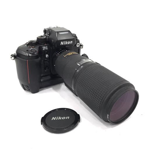 Nikon F4 フィルムカメラ ブラック ボディ