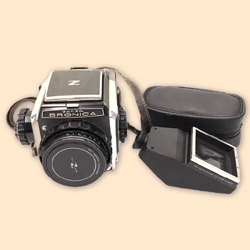 ZENZABRONICA S2 中判カメラ ボディ NIKKOR-P 12.8 75mm