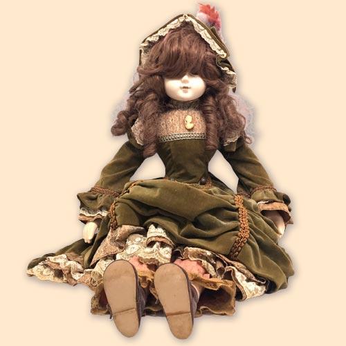 ビスクドール 西洋人形